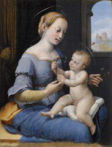 Rafael, Madonna met de anjers