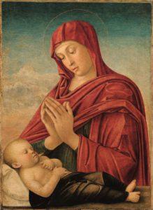 Bellini, Madonna met kind