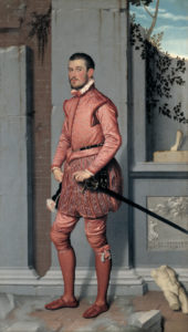 Moroni, ridder in roze