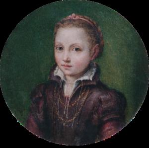 Lucia, portret van Europa