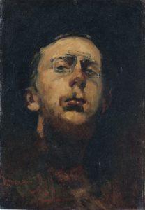 Zelfportret Lorgnet