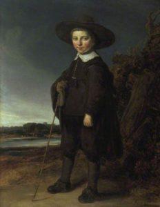 Flinck Portret van David Leeuw