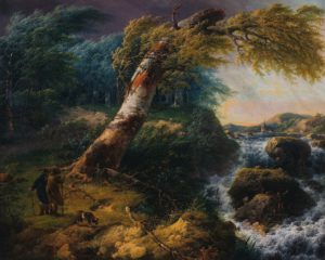 Nijmegen, landschap, storm