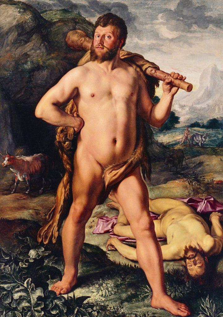 Goltzius, Hercules, Cacus