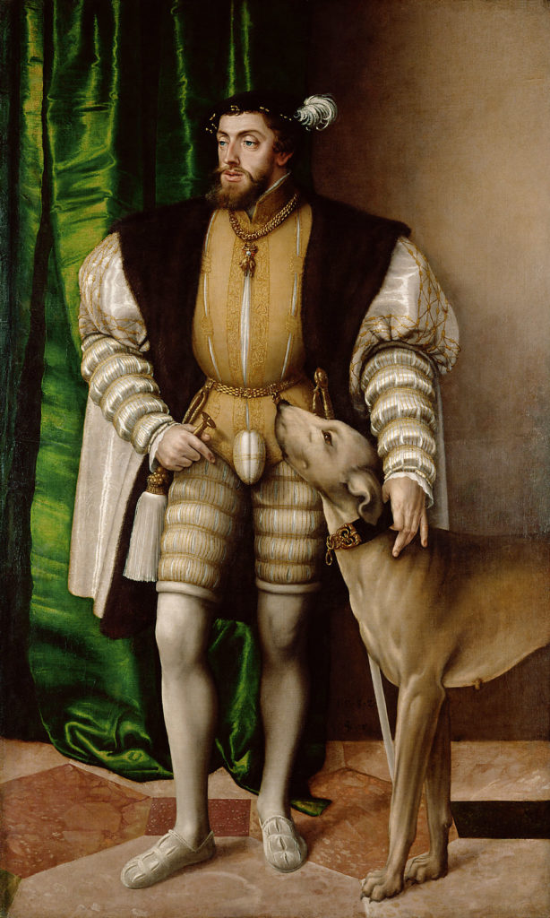 Seinegger, Karel V
