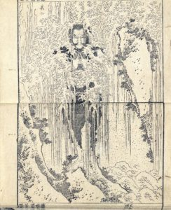 Hokusai_Onder de waterval