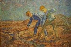 Van Gogh Les bêcheurs
