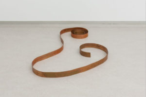 Copper Ribbon_Carl Andre