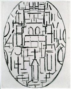 Mondriaan, Kerkgevel 1