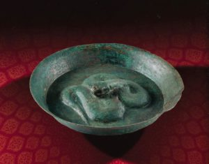 Bronzen schaal Shahdad