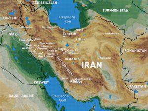 Kaartje Iran