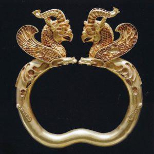 Oxus gouden armband