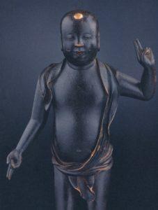 Tanjobutsu, kleine Boeddha