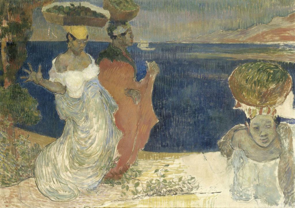 Laval, Vrouwen aan de kust