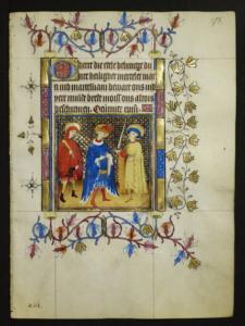 Drie heiligen gebedenboek Maria van Gelre