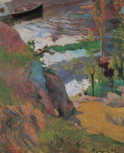Gauguin vissers en baders