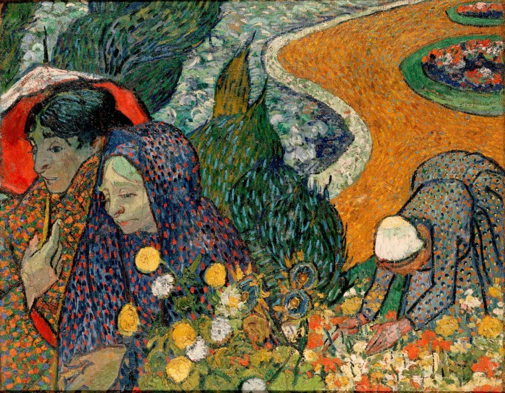 Van Gogh, tuin Etten