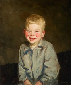 Henri Laughing Boy