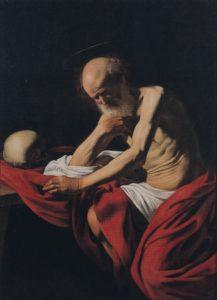 Caravaggio Hiëreonymus