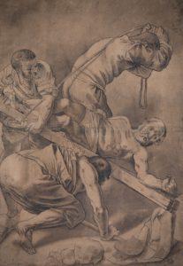 Honthorst Kruisiging tekening